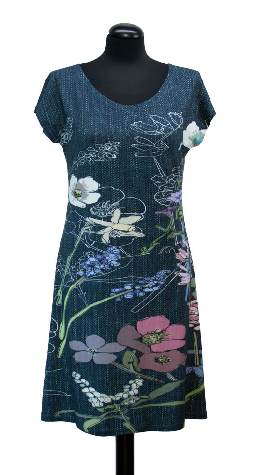 Schnittquelle Schnittmuster Shop - Schnittmuster Shirt/Kleid Deva ...