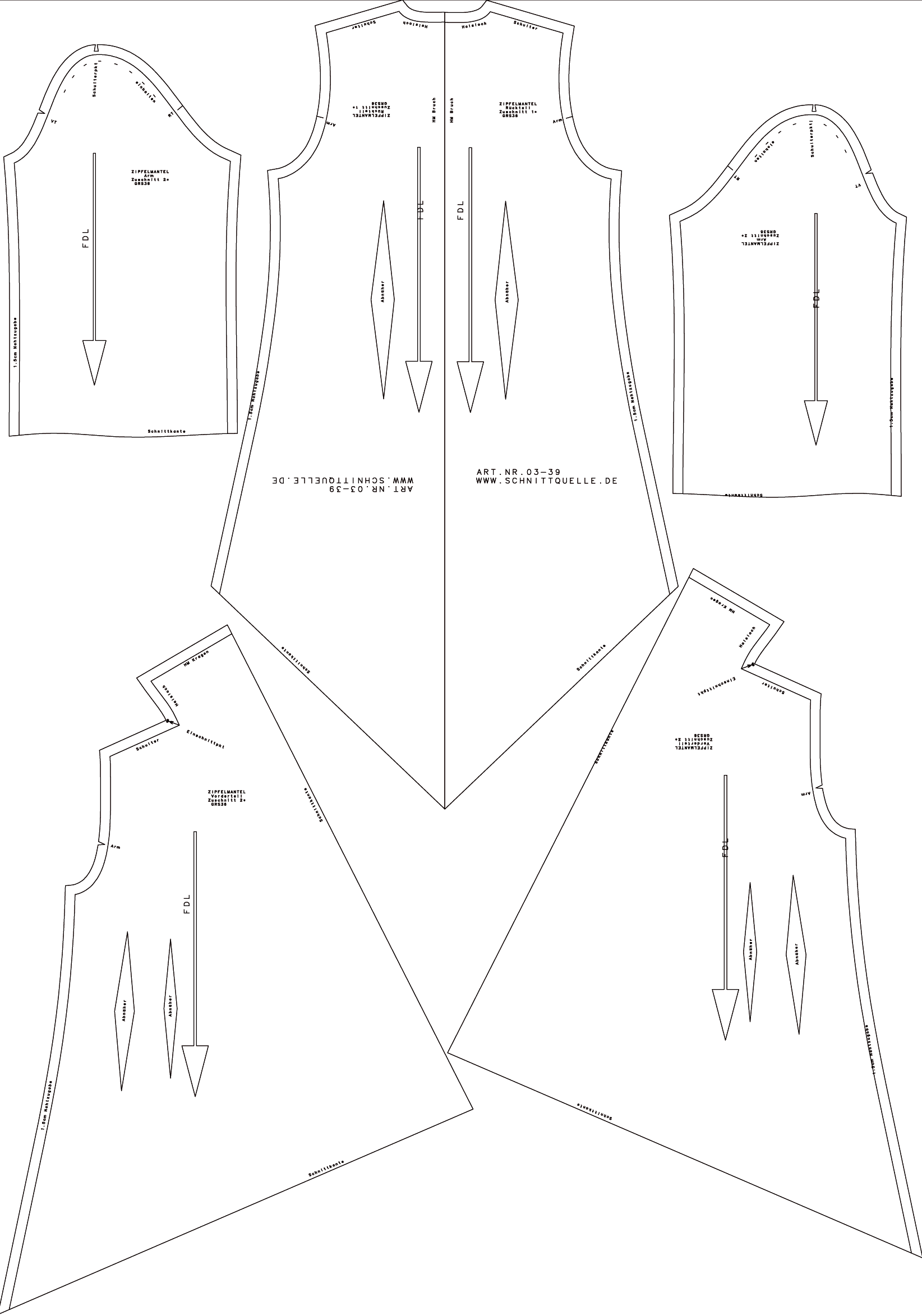 Schnittquelle Schnittmuster Shop - pattern,sewing, sewing patterns